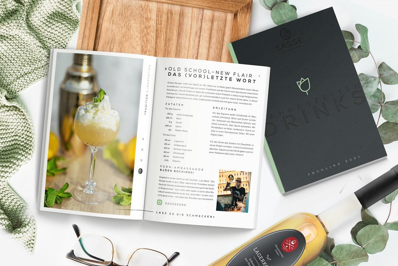 Sasse mit exklusiver Cocktailkarte