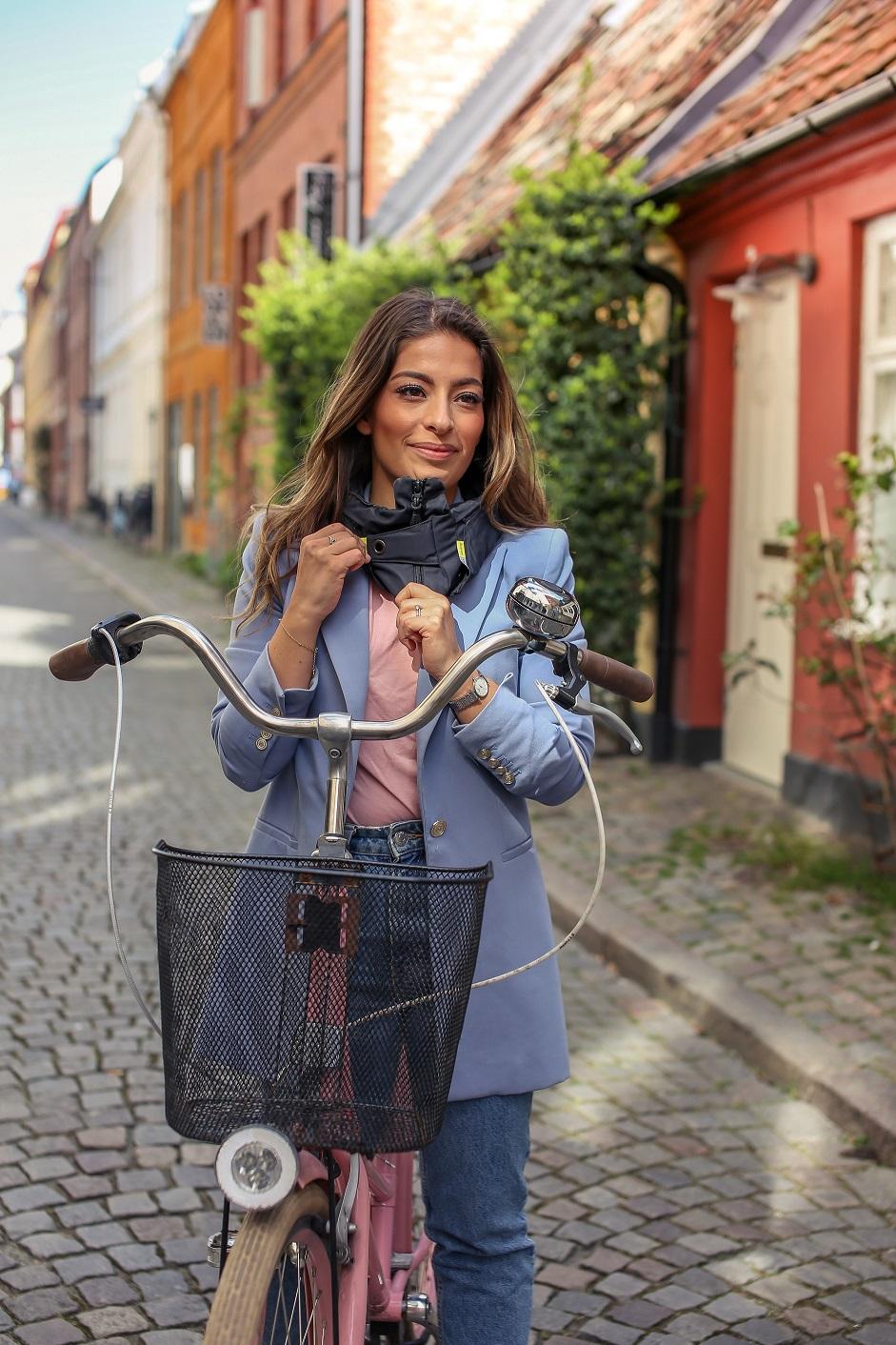 Viele Radfahrer wählen Hövding