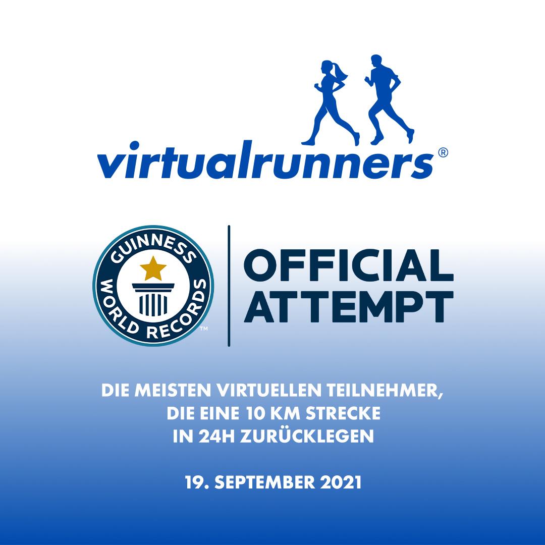 Weltrekord_Digitaler Zehn-Kilometer-Lauf